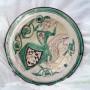 Plato-Siglo-xiv-serie-verde-y-morada