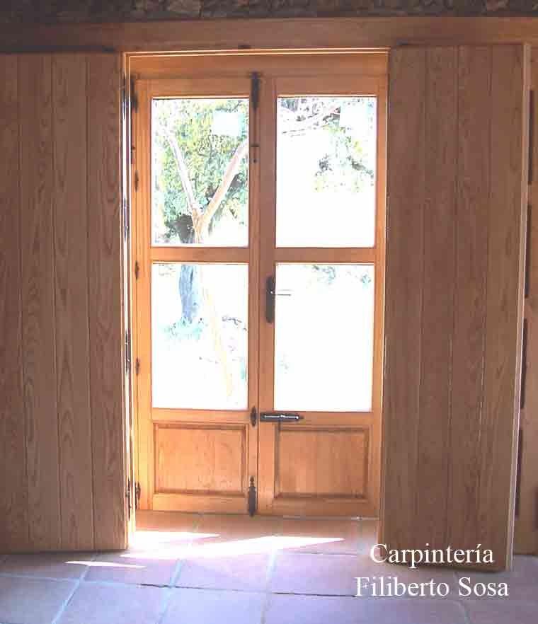 Puertas dobles de cristal finest great instalacion de for Puertas correderas sodimac