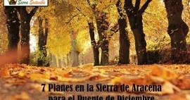 7 Planes en la Sierra de Aracena para el Puente de Diciembre