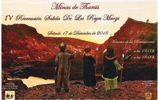 Recreación histórica de la salida de los Reyes Magos de Tharsis hacia Belén