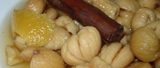 Receta serrana: Potaje de castañas