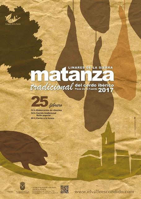 Fiestas de la Matanza Tradicional del Cerdo Ibérico en Linares de la Sierra (Huelva)
