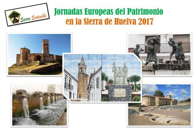 Jornadas Europeas del Patrimonio 2017 en la Sierra de Huelva